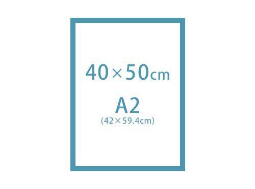 40×50cm・A2(42×59.4cm)